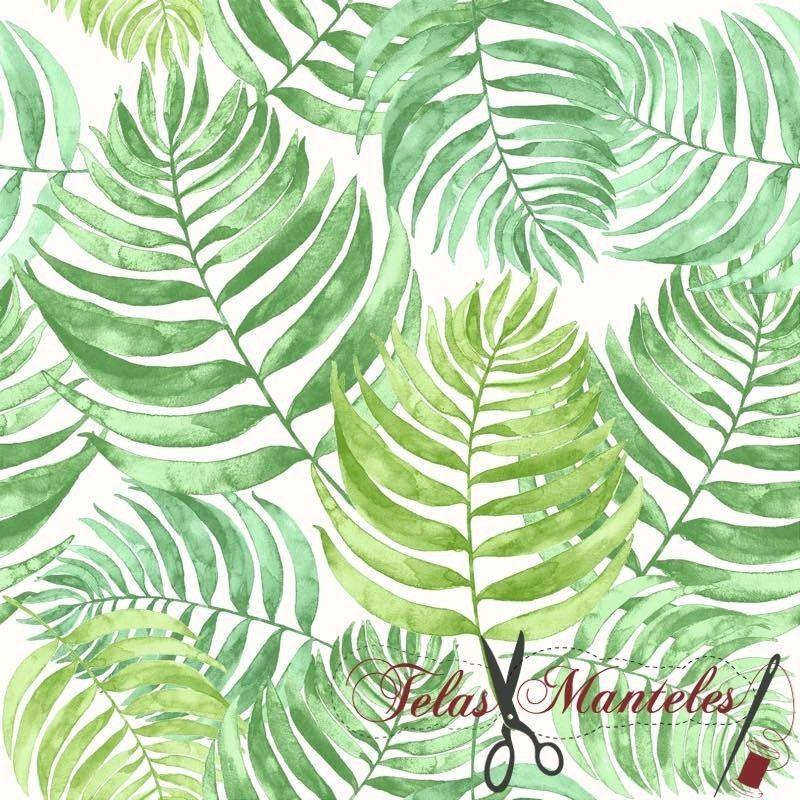 Tela Estampada Barbados Verde