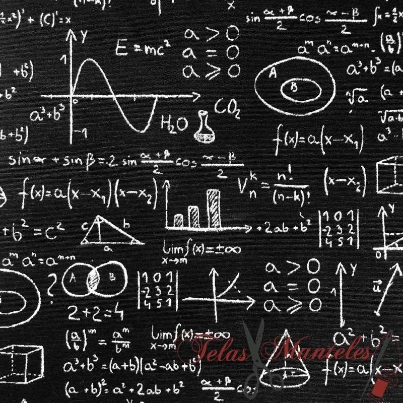 Fórmulas Matemáticas Pizarra