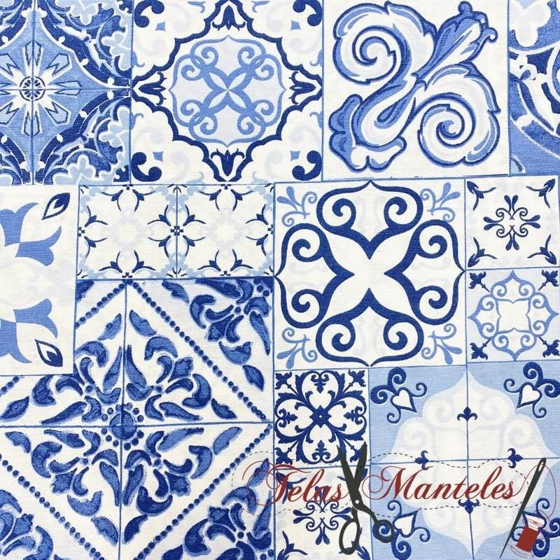 Tela Resinada Azulejo Hidraúlico