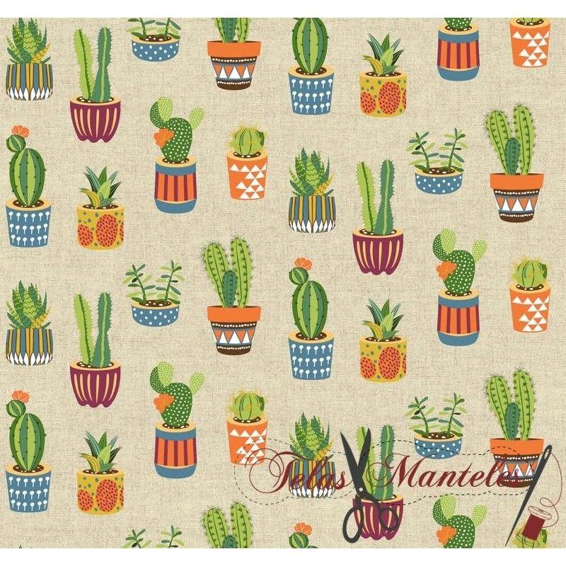 Tela Cactus Culla Multicolor
