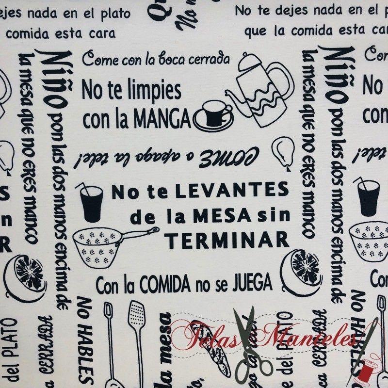 Tela Buenos Modales